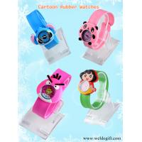 Buy cheap Cartoon rubber wrist watch for promotion gifts from wholesalers
