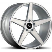 Buy cheap 1- Piece Forged Wheel Custom Gloss Black 1-PC 21 Inch Alloy Rims For Mercedes E350 5x112 from wholesalers