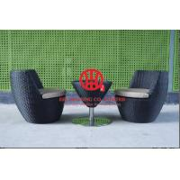Garden cozy furniture rattan coffee table and chair Manufactures