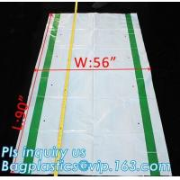 Buy cheap Gusseted Side/Square Bottom Pallet Bags PE Pallet Covers, Giant Black Opaque Poly Bag Pallet Covers and Liners, vinyl co from wholesalers