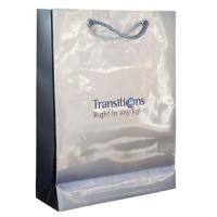 Buy cheap Gift Packaging Paper Cosmetic Bags / Wedding Gift Bag with PP, Cotton Rope / twisted Handles from wholesalers
