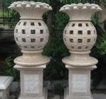 Buy cheap Joy Garden Outdoor Hand Carving Stone Lamps, Garden Outdoor Hand Carving Stone Lamps Granite Sculpture & Statue from wholesalers