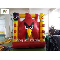 Buy cheap Airtight Angry Bird Inflatable Jumping Castle With Hand Printing from wholesalers