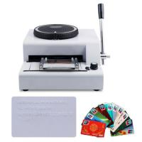 Buy cheap bank cards low price number plate embossing machine for sale from wholesalers