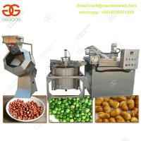 China Hot sale Fried Peanut Production Line|304 Stain Steel Potato Chips Fryer Machine Processing Line on sale