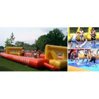 Buy cheap School Inflatable Soccer Field / Soap Football Field For Teenager Play from wholesalers