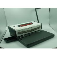 Buy cheap 6 Blades Scrapbook Spiral Coil Binder Machine With 46 Punching Pins from wholesalers