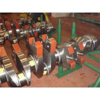 Buy cheap Forged Marine Crankshaft , Diesel Engine Crankshaft Standard Size . Fast product