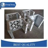 Buy cheap Laser Cut Custom Aluminum Panels For Fence Decoration Perforated Alloy Wall Panel from wholesalers