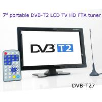 Buy cheap DVB-T27 7 inch portable DVB-T2 LCD TV monitor 2014 HD FTA digital TV receiver decoder from wholesalers