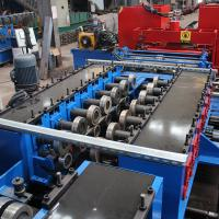 Buy cheap GI Stainless Steel Cladding Cable Tray Manufacturing Machine Double Chain Drive from wholesalers