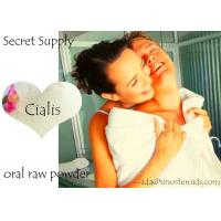 Male Enhancement Supplements Tadalafil / Cialis Raw Powders Finished Pills 10mg 20mg Manufactures