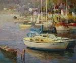 Buy cheap Boat Oil Painting Wholesale from wholesalers