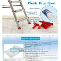 Buy cheap HDPE protective plastic Drop sheet Drop cloth Paint dust sheet, 3.7*3.7m PE Plastic Drop Sheet, painter dust sheetS, PAC from wholesalers
