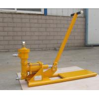 Buy cheap hand operated cement grouting pump for construction equipments from wholesalers