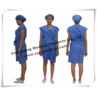 Buy cheap Disposable Surgical Gowns Non - woven Hospital Nursing Uniform Patient Protection from wholesalers