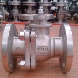 API flange ball valve for power station