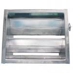 Buy cheap Manual Air Duct Damper Clean Room Ventilation Air Damper Actuator Manual Regulation from wholesalers