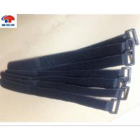 Buy cheap Soft black Loop Strap Fastener , industrial strength Hook And Loop Cable Strap from wholesalers