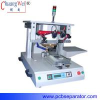 Buy cheap precision translatory shift  single-position hot bar welding machine with pulse heat CWPP-1A from wholesalers