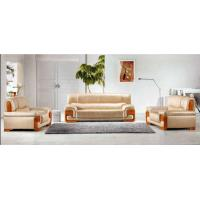 Buy cheap Bright Colored White Leather Sofa Set, Office Furniture(fohjz-6607) from wholesalers