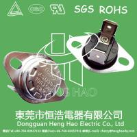 Buy cheap Disc Type Snap Switch Thermostat , Temperature Control KSD Thermal Switch from wholesalers
