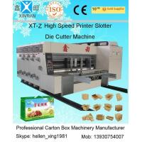 Buy cheap 1200x2300mm Printing Size Die Cutter Machine Steel Temper Dynamic Balance from wholesalers
