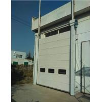 Buy cheap Steel Sandwich Construction Industrial Sectional Doors Roller Exterior 24db Sound Insulation from wholesalers