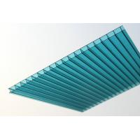 Buy cheap Anti UV Polycarbonate Insulated Roofing Sheets / Twin Wall Polycarbonate Panels from wholesalers