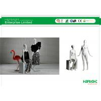 Buy cheap Eco Friendly FRP Dress Form Mannequins Standing And Sitting Female from wholesalers