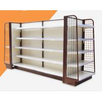 Buy cheap Anti Rust Convenience Store Shelving Units / Supermarket Display Racks from wholesalers