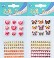 Buy cheap Mobile Phone Stickers/Acrylic Stickers/Diamond Stickers(PUE101) from wholesalers