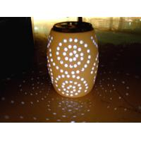 Buy cheap Wholesale Ceramic Colourfull Solar Light Jar from wholesalers