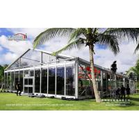 Wholesale Outdoor party tent with clear top for weddings and events from china suppliers