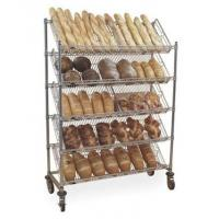Buy cheap Slant wire cart for storing and displaying items from wholesalers