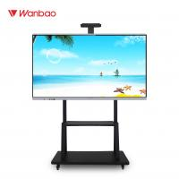 Buy cheap LED Intelligent Interactive Flat Panel All In One PC Touch Screen With Stand from wholesalers
