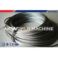 Buy cheap Stainless Dteel Eire Rope 316 Model Galvanized Steel Wire Rope product