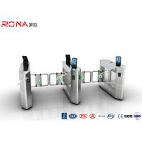 Buy cheap Face Recognition Speed Gate Turnstile Access Control System 30 Persons / Min from wholesalers