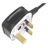 Buy cheap UK ac power cord| Y006A BS Pulg| Plug with fuse| UK power plug| BS approval power cord from wholesalers