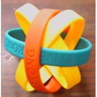 Buy cheap Silicon Rubber Wrist Band from wholesalers