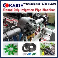Buy cheap drip Irrigation Pipe production Machine/tube d'irrigation goutte à goutte/drip irrigation tape from wholesalers