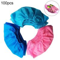 Buy cheap Dustproof Medical Shoe Cover Non Slip 100pcs / Bag Disposable Thicken from wholesalers