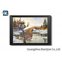 Buy cheap Wolves 3D Lenticular Printing Picture For Gift , Home Decoration from wholesalers