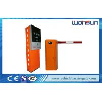 Buy cheap Car Automated Parking Lot Management System with Barcode Ticket Dispenser and Steel from wholesalers