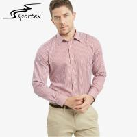Buy cheap Non Ironing Cotton Satin Male Formal Shirts Breathable For Adults Age Group from wholesalers