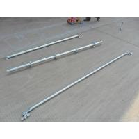 China Support  2.42 M Galvanized Steel Scaffolding Easy Erect / Dismantle For Building Construction on sale
