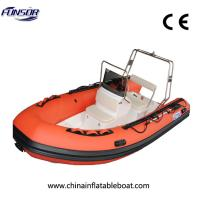 Buy cheap RIB430 High Quality Rigid Inflatable Boat For Sport Or Rescue from wholesalers