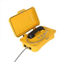 Buy cheap Anti Vandal Waterproof Emergency Phone Aluminum Alloy 3 Buttons For Speed Dial from wholesalers