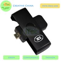 Buy cheap Smart ID card reader ISO7816 PC/SC protocol card reader Android mobile smart card reader from wholesalers