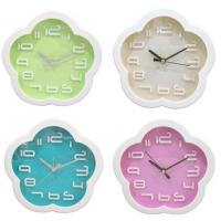 Buy cheap Flower Design Plum Blossom Shaped Alarm Clock Candy Color Clock from wholesalers